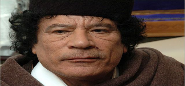 Gaddafi int'l: Our aid ship will not go to Egyptian ports