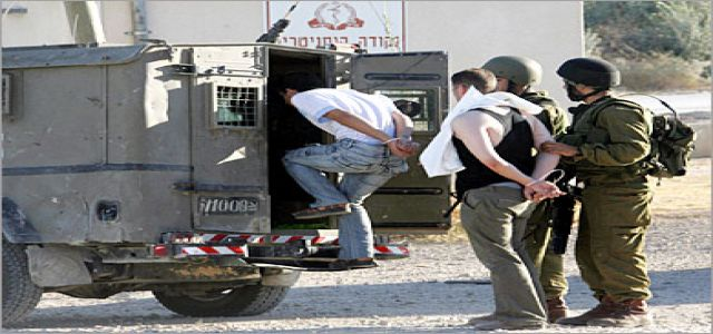 IOF troops round up 14 citizens including foreigners, journalists
