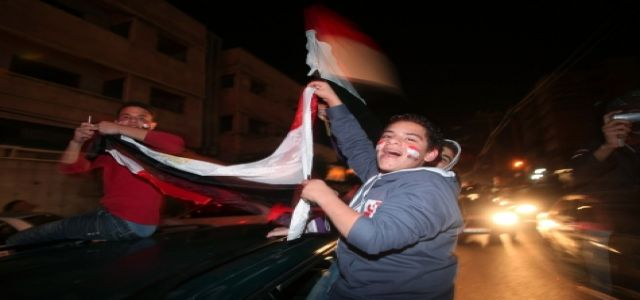 Gaza erupts ... in celebration?