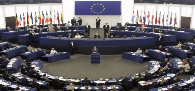 European Parliament  discusses drafted resolution and Israeli attack