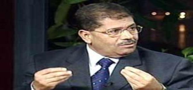 Morsy: Egypt 's ruling regime to compensate its legitimacy to rule by using violence against its own citizens