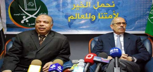 Wall Street Journal commends  MB and ElBaradei united front