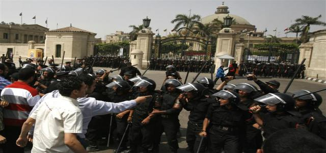 Egypt Students Union Vice-President Slams Return of State Police on Campus