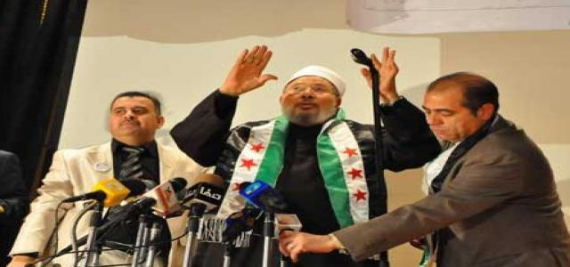 Al-Qaradawi Denounces Hezbollah, Iran Support for Assad's Tyranny