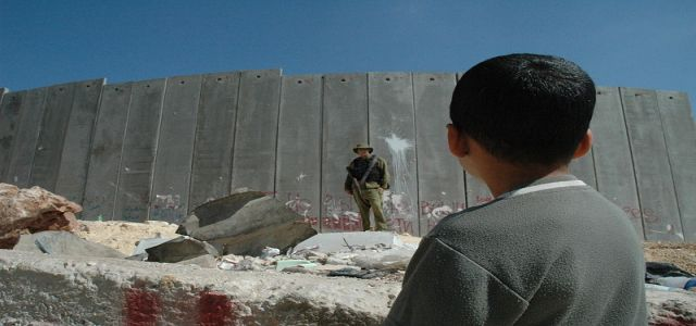 IOA rebuilds apartheid wall in central Lod