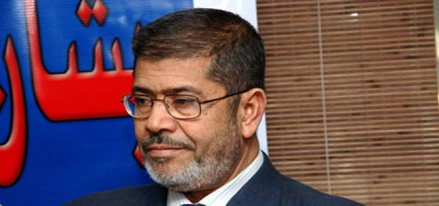 Morsi Calls On Arab Foreign Ministers To Seek Fair Solution To The Palestinian Issue