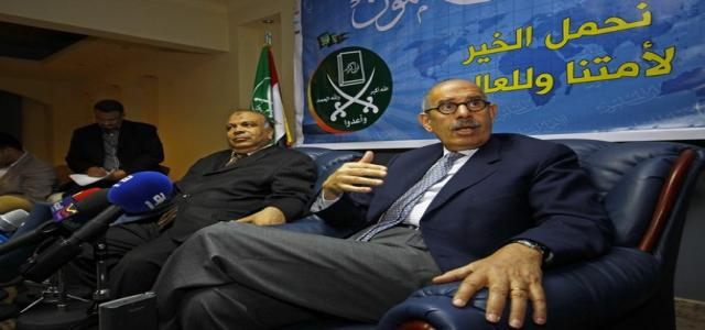 ISN: US denies support of ElBaradei's call to integrate MB into Egypt's political system