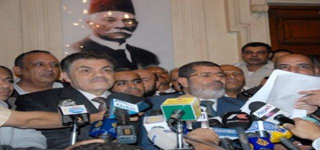 Morsi: No Retreat from Lifting Emergency Law, NDP Political Ban Before Elections