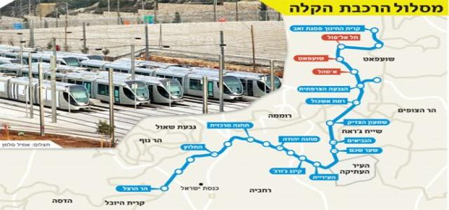 IOA resumes work on Jerusalem light rail project - Ikhwanweb