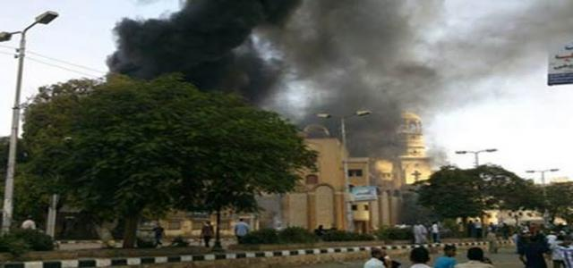 Anti-Coup Pro-Democracy National Alliance in Minya Denounces Church Attack Tuesday