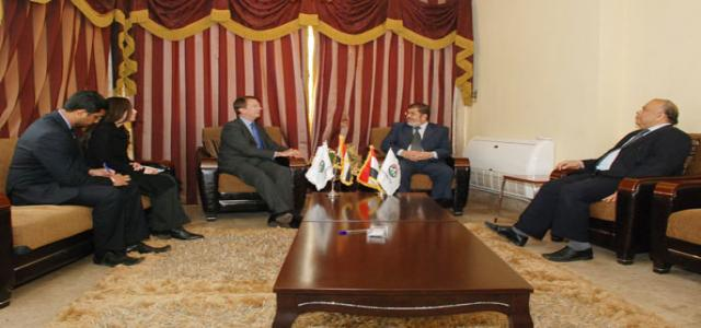 In Meeting with FJP Chair, British Ambassador Says UK Willing to Support Egypt's Economy