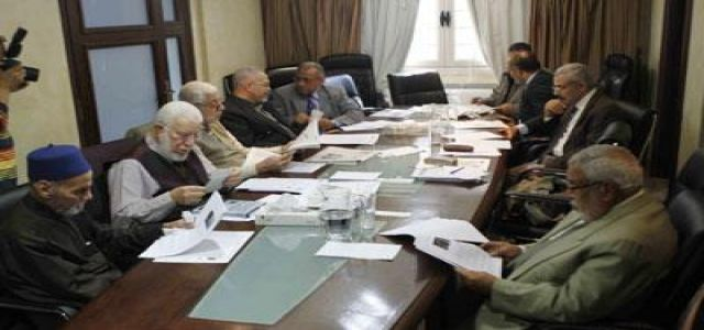 Akef heads first meeting with the newly elected Executive Guidance Bureau
