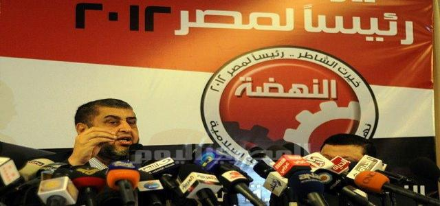 Al-Shater: We Will Fight – Legally, Politically and Peacefully for Freedom and the Revolution