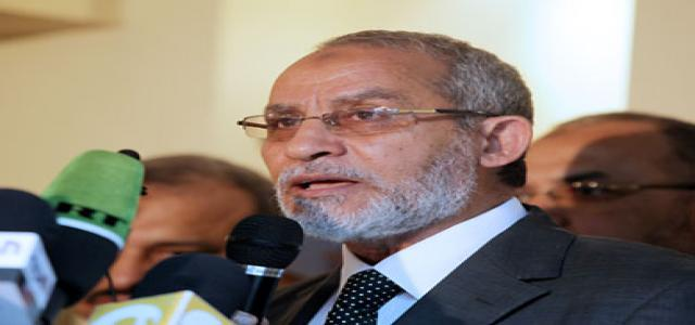 MB Chairman: A Leading MB Executive Bureau Member Will Resign to Head Freedom & Justice
