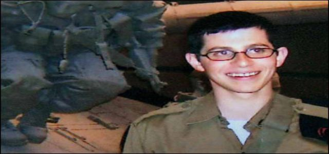 A reading in Gilad Shalit's Video