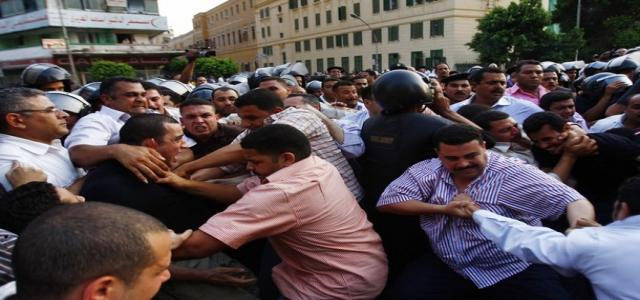Escalating arrests of Alexandria's MB